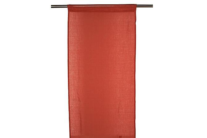 Paneeliverho Danis 2-pak 43x240 cm Oranssi - Fondaco - Sisustustuotteet - Kodintekstiilit - Verhot