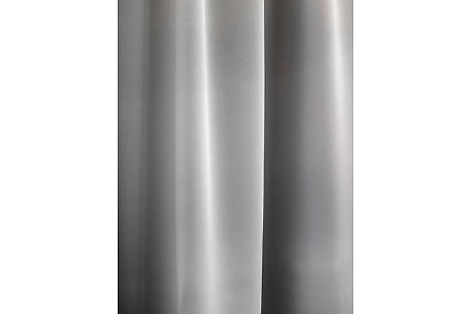 Pimentävä Sivuverho Pimari 140x250 cm teräs - Vallila - Sisustustuotteet - Kodintekstiilit - Verhot
