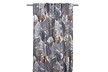 Pitkä verho Ananas Monitoiminauha 2-pak 245 cm Sininen