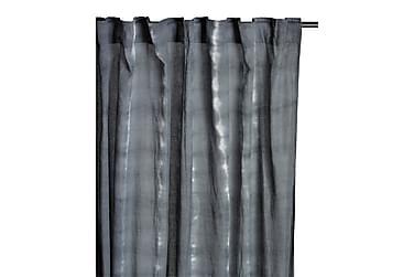 Pitkä verho Batik 135x250 cm Harmaa