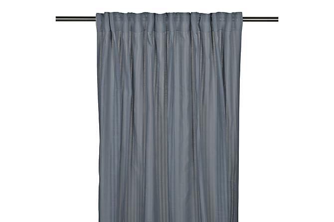 Pitkä verho Bianca Monitoiminauha 2-pak 250 cm Sininen - Fondaco - Sisustustuotteet - Kodintekstiilit - Verhot
