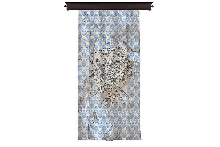 Pitkä verho Cipcici 140 cm - Monivärinen - Sisustustuotteet - Kodintekstiilit - Verhot