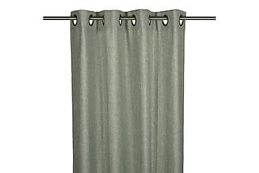 Rengasverho Carl 2-pak 240 cm Vaaleanvihreä