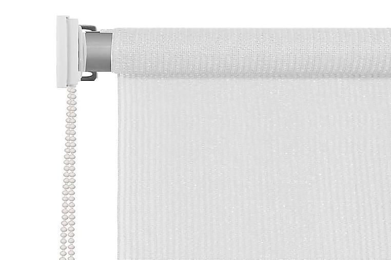 Rullaverho ulkotiloihin 120x140 cm Valkoinen - Valkoinen - Sisustustuotteet - Kodintekstiilit - Verhot