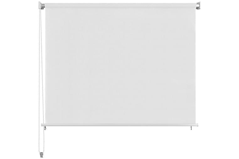 Rullaverho ulkotiloihin 160x140 cm Valkoinen - Valkoinen - Sisustustuotteet - Kodintekstiilit - Verhot