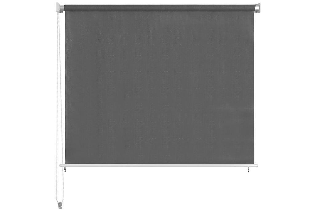 Rullaverho ulkotiloihin 400x140 cm Antrasiitti - Antrasiitti - Sisustustuotteet - Kodintekstiilit - Verhot