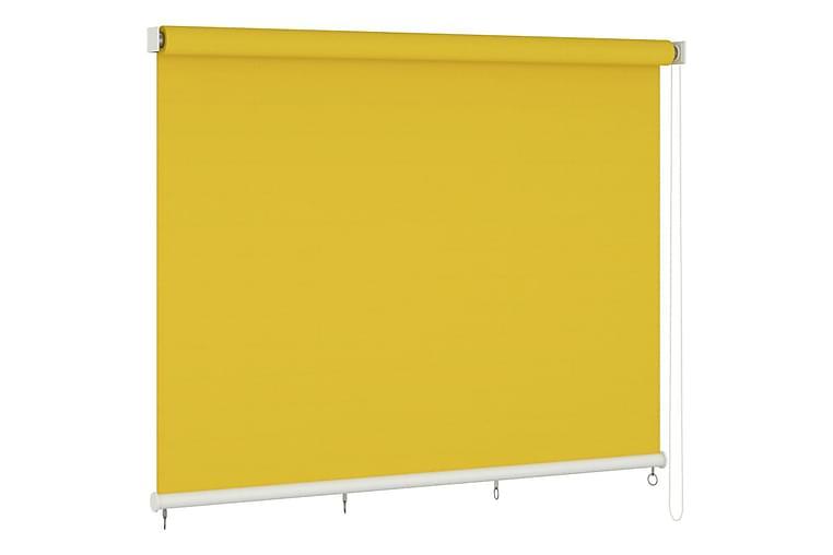 Rullaverho ulkotiloihin 400x140 cm keltainen - Keltainen - Sisustustuotteet - Kodintekstiilit - Verhot