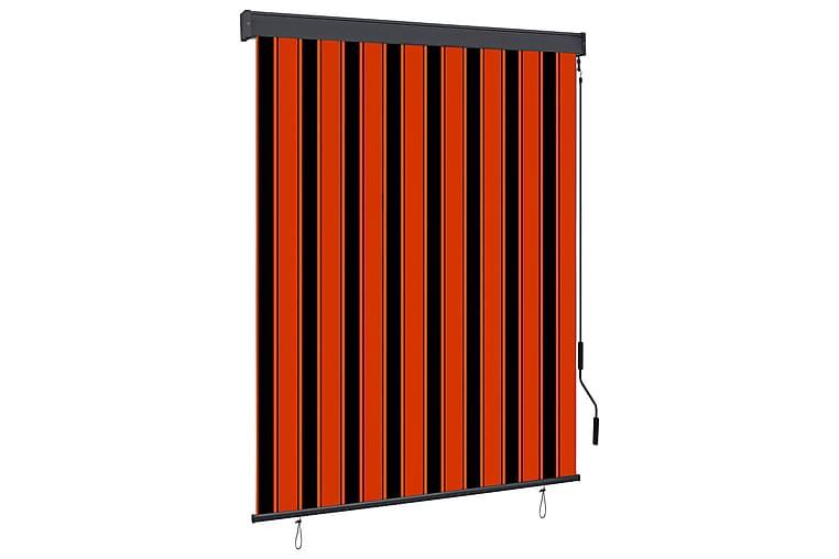 Ulkorullaverho 140x250 cm oranssi ja ruskea - Oranssi - Sisustustuotteet - Kodintekstiilit - Verhot