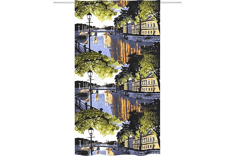 Verho Aurajoki 140x250 cm Monivärinen - Vallila - Sisustustuotteet - Kodintekstiilit - Verhot