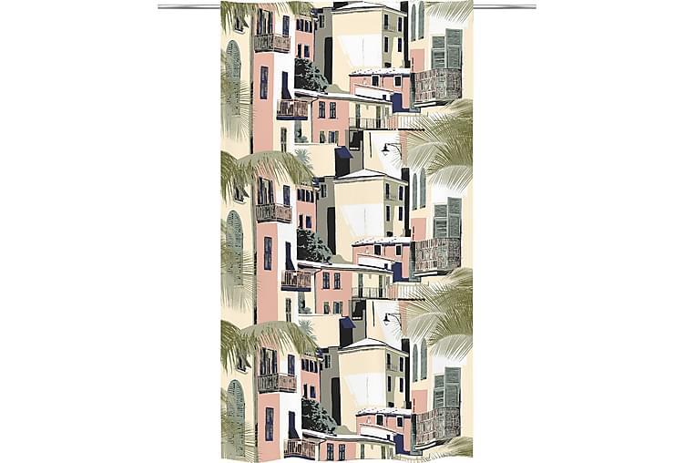 Verho Cinqueterre 140x250 cm Vihreä Pastelli - Vallila - Sisustustuotteet - Kodintekstiilit - Verhot