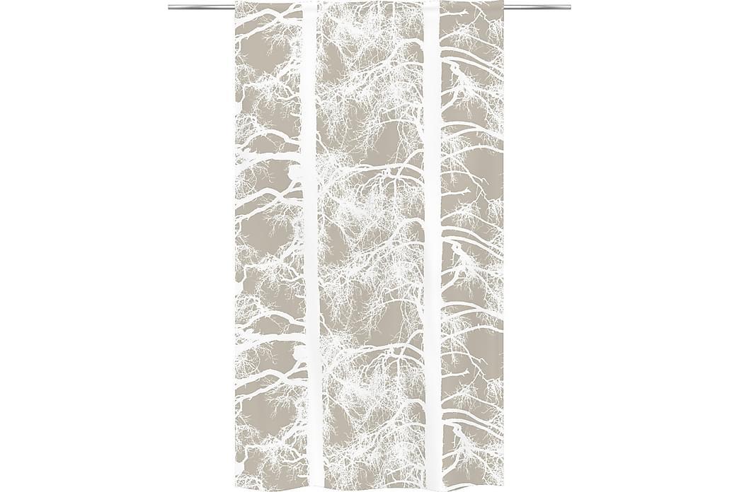 Verho Kelohonka 140x250 cm Beige/Valkoinen - Vallila - Sisustustuotteet - Kodintekstiilit - Verhot