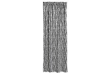 Verho Pampula 140x250 cm Musta/valkoinen