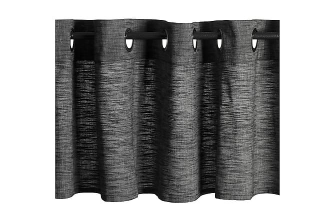 Verhokappa London 45x200 cm Musta - Mogihome - Sisustustuotteet - Kodintekstiilit - Verhot