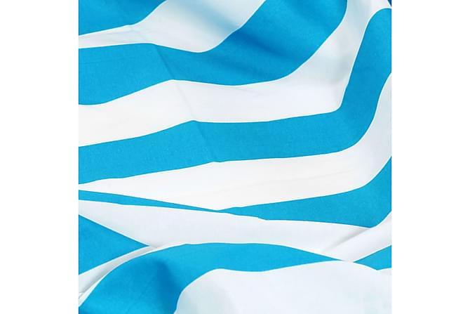 Verhot metallirenkailla 2 kpl kangas 140x245cm sininen raita - Sininen - Piha - Ulkosäilytys - Autotallin sisustus & säilytys