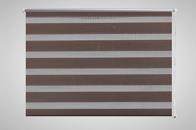 Zebra rullakaihdin 120 x 175 cm kahvinruskea - Ruskea - Sisustustuotteet - Kodintekstiilit - Verhot