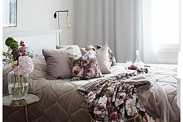 AMALIA torkkupeite 125x170 cm roosa, beige Naava-vuori