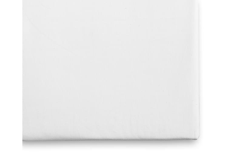 Borganäs Lakana Pinnasänkyyn 100x150 cm - Valkoinen - Sisustustuotteet - Kodintekstiilit - Vuodevaatteet