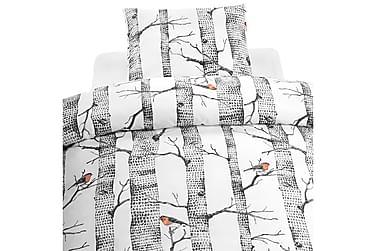Borganäs Pussilakanasetti Bare Trees 2-os