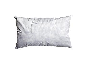 Höyhensisätyyny 30x50 cm Valkoinen