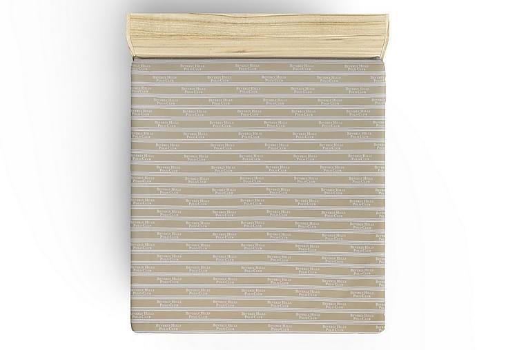 Lakana Beverly Hills Polo Club Yhden 180x240 cm Ranforce - Kerma/Valkoinen - Sisustustuotteet - Kodintekstiilit - Vuodevaatteet