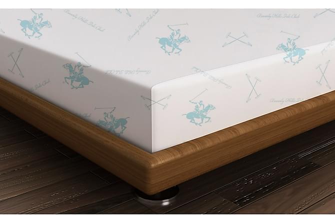 Lakana Beverly Hills Polo Club Yhden 180x240 cm Ranforce - Vihreä/Valkoinen - Sisustustuotteet - Kodintekstiilit - Vuodevaatteet