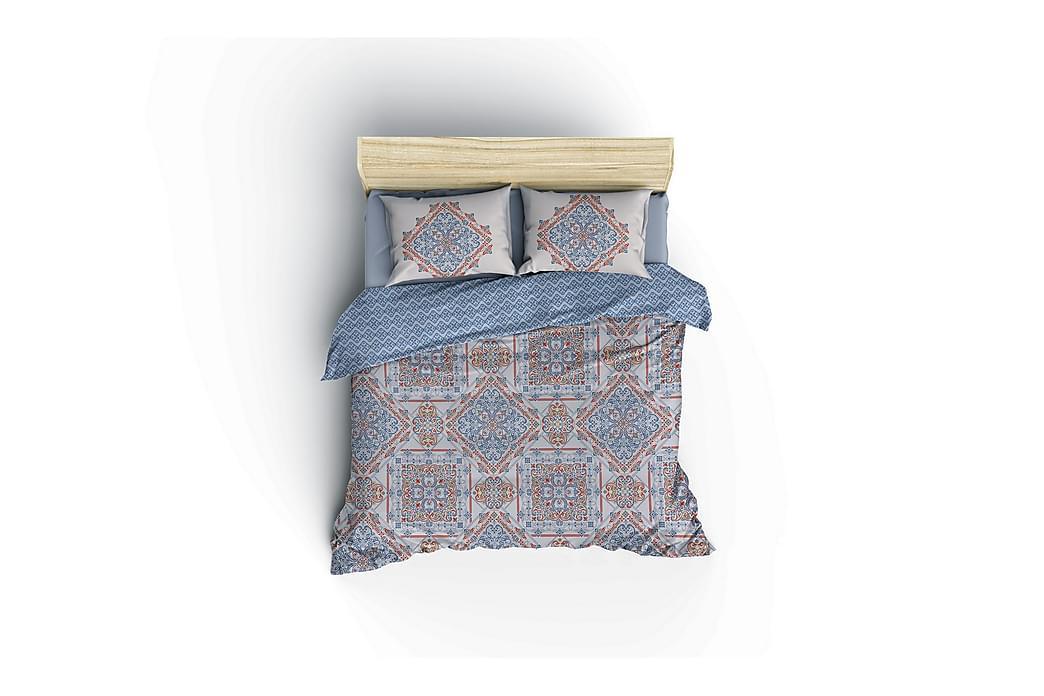 Pussilakanasetti Cotton Box Ranforce - Sininen - Sisustustuotteet - Kodintekstiilit - Vuodevaatteet