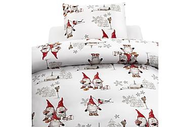 Pussilakanasetti Frosty Christmas 2-os setti
