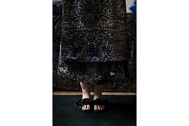 ROMA torkkupeite 125x170 cm monivärinen, musta Melanie-vuori