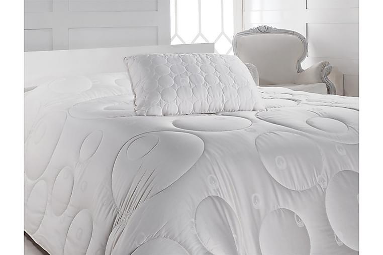 Tyyny Cotton Box 50x70 cm Satiini - Valkoinen - Sisustustuotteet - Kodintekstiilit - Vuodevaatteet