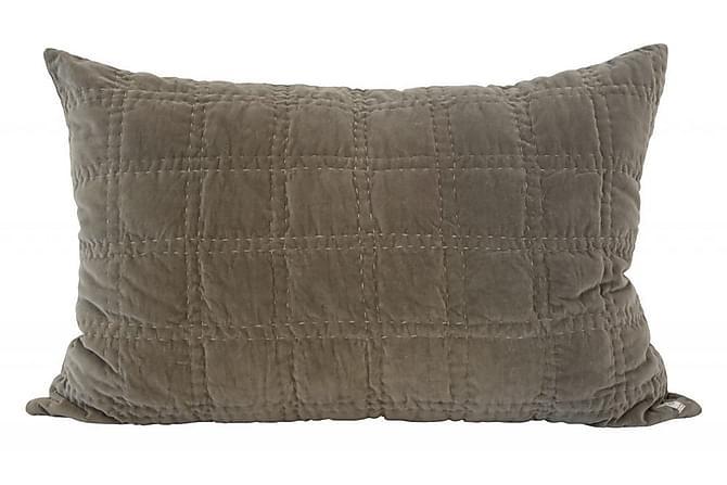 Tyynyliina Bordeaux 40x60 cm Harmaa/Sametti - Borås Cotton - Sisustustuotteet - Kodintekstiilit - Vuodevaatteet