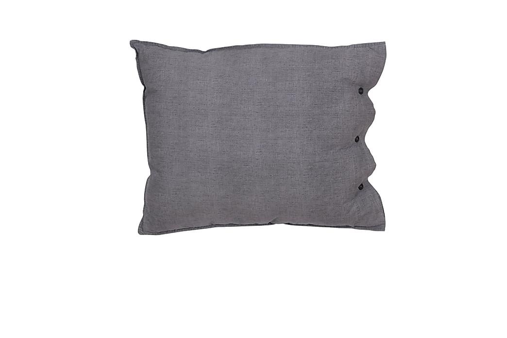Tyynyliina Eden 50x60 cm Vaaleanharmaa - Fondaco - Sisustustuotteet - Kodintekstiilit - Vuodevaatteet