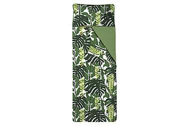 Unipussi Bunaken, 90x250cm, valkoinen/vihreä
