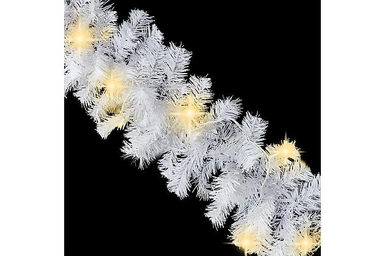 Jouluköynnös LED-valoilla 20 m valkoinen - Valkoinen - Sisustustuotteet - Sisustusesineet - Joulukoristeet