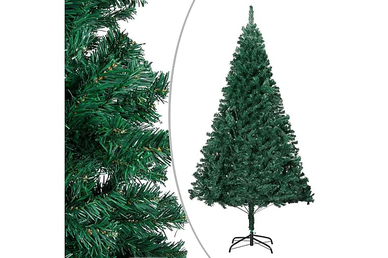 Tekojoulukuusi paksuilla oksilla vihreä 180 cm PVC - Sisustustuotteet - Sisustusesineet - Joulukoristeet