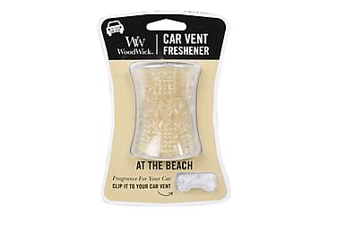 Tuoksukynttilä Car Vent At The Beach Valkoinen