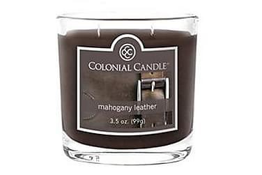 Tuoksukynttilä Small Mahogany Leather