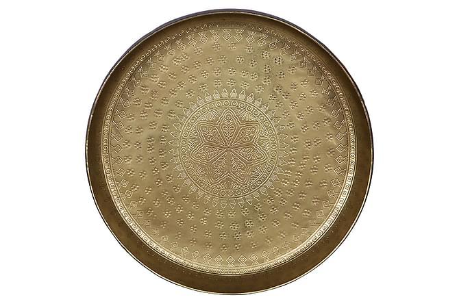 Tarjotin Pediseca Pieni 30 cm Pyöreä - Antiikki Messinki - Sisustustuotteet - Koriste-esineet - Tarjottimet & tarjoiluvadit