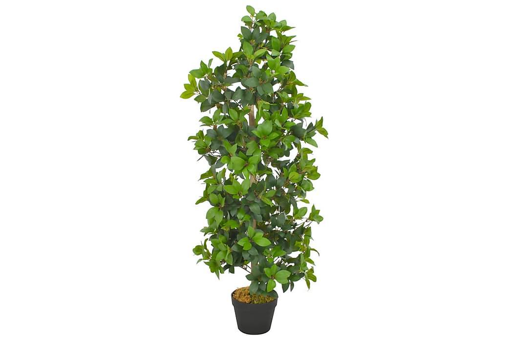 Tekokasvi laakeripuu ruukulla vihreä 120 cm - Monivärinen - Sisustustuotteet - Sisustusesineet - Tekokasvit