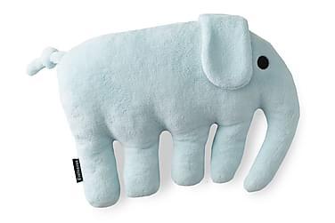 Tyyny Elefantti 40x30 cm Vaaleansininen