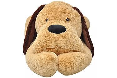 Koira pehmolelu Ruskea 120 cm