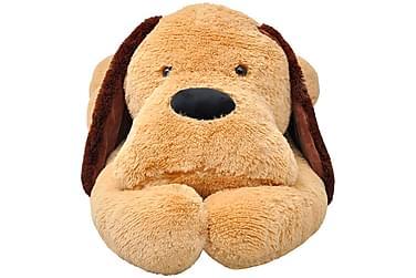 Koira pehmolelu Ruskea 80 cm