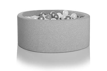 Pallomeri Pyöreä 150 palloa Vaaleanharmaa
