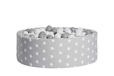 Pallomeri Pyöreä 200 palloa Tähti Harmaa
