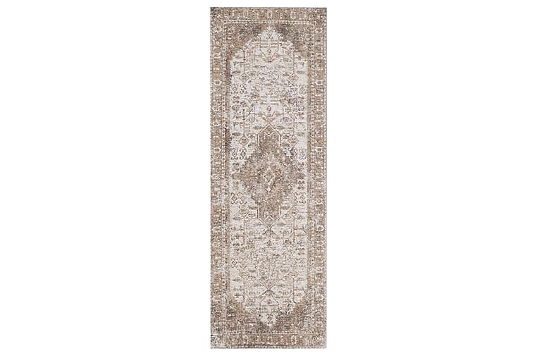 Chenillematto Asha 80x250 cm Persikka - AmandaB - Sisustustuotteet - Matot - Itämaiset matot