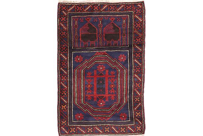 Itämainen matto Beluch 83x135 - Punainen - Sisustustuotteet - Matot - Itämaiset matot