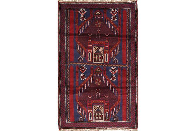 Itämainen matto Beluch 83x145 - Punainen - Sisustustuotteet - Matot - Itämaiset matot