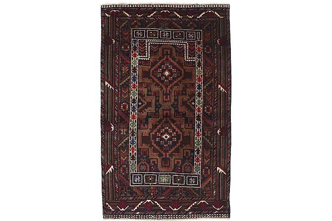 Itämainen matto Beluch 85x137 - Ruskea - Sisustustuotteet - Matot - Itämaiset matot