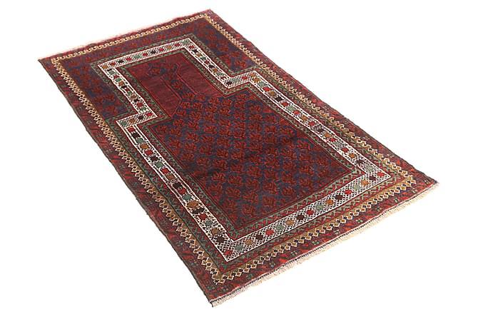 Itämainen matto Beluch 86x136 - Punainen - Sisustustuotteet - Matot - Itämaiset matot