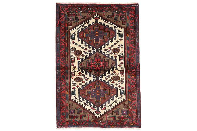 Itämainen matto Hamadan 98x143 - Punainen - Sisustustuotteet - Matot - Itämaiset matot