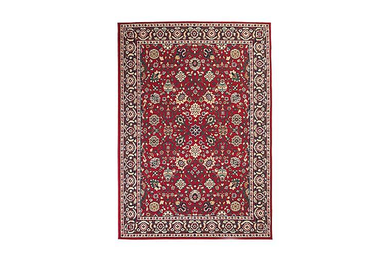 Itämainen matto Persialainen tyyli 80x150 cm punainen/beige - Monivärinen - Sisustustuotteet - Matot - Itämaiset matot